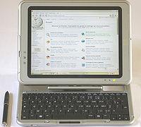 Dans un Tablet-PC.
