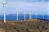 Parc éolien en Autriche