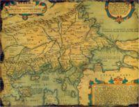 carte de la Thrace antique, indiquant la province d'Europe (cliquer pour agrandir)