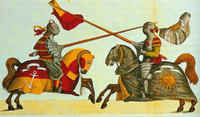 Joute bavaroise du XVe siècle
