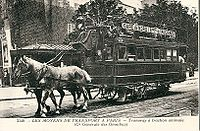 Tramway hypomobile de la CGO