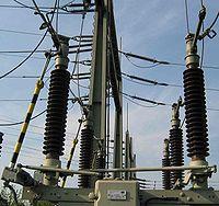 sectionneur 110 kV ouvert