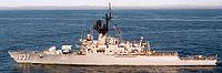 La frégate américaine USS Bronstein
