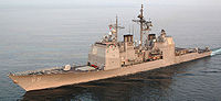Le USS Vicksburg