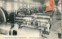 Dynamos de l'usine des tramways de l'Est Parisien