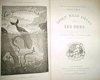 Vingt mille lieues sous les mers Une des premières éditions de Hetzel.