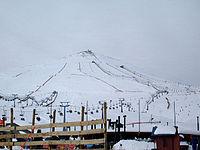 Télésiège à Valle Nevado au Chili