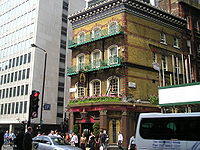 The Albert, Victoria Street, l'un des pubs les plus c�l�bres de Londres.