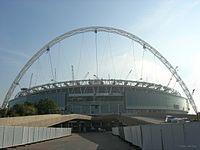 Nouveau stade de Wembley, inauguré en 2007