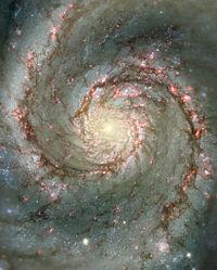 Galaxie en spirale logarithmique