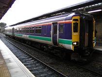 Rame classe 156 de ScotRail à Hexham.