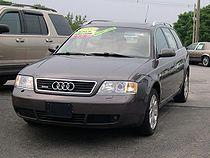 Une Audi A6 Avant (C5): 2ème génération