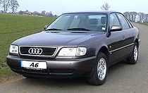 Une Audi A6 (C4): 1ère génération