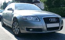 Une Audi A6 (C6)