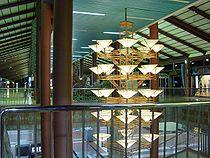 Aéroport de Jakarta Soekarno-Hatta: aérogare 1, intérieur