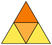 Patron du tétraèdre régulier