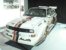 Une Audi Quattro S1