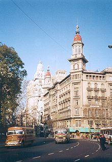 Centre-ville de Buenos-Aires