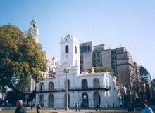 Cabildo, Plaza de Mayo (place de mai), Buenos-Aires