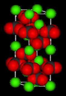 Calcite, unité cellulaire