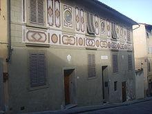 Maison de Galil�e Costa San Giorgio � Florence.