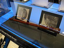 Réplique d'une lunette astronomique de Galilée.