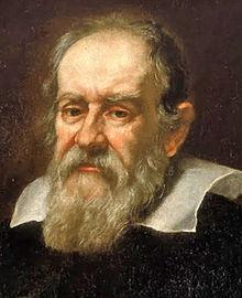 Portrait de Galileo Galilei par Giusto Sustermans en 1636.