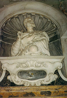 Mausol�e de Galil�e � l'�glise Santa Croce de Florence.