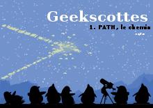 Couverture du livre Geekscottes