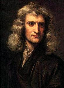 Portrait d'Isaac Newton par Godfrey Kneller (1689)