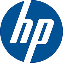 Logo HP Blue
