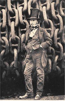 Isambard Kingdom Brunel en 1857