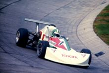 Rudolf Dötsch avec March-Toyota 1976