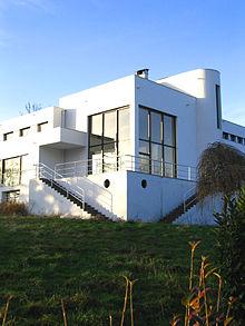 Villa Paul Poiret, vue du sud-est en janvier 2007