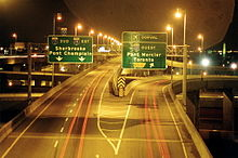 L'autoroute 15 en direction sud