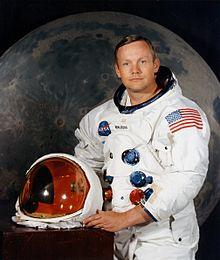 Portrait d'Armstrong le 1erjuillet1969