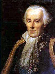 portrait de Pierre-Simon de Laplace en habit d'apparat