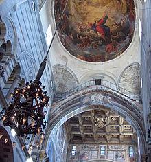 Le Pendule pesant de Galil�e � la Cath�drale (Duomo) de Pise.