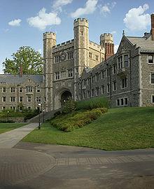 Université de Princeton, New Jersey, style néogothique