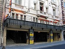 Photo de l'entrée du Théâtre Mogador