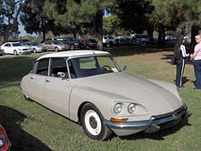 1969 ID 19 Citro�n. Mod�le l'�tats-Unis