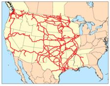 Réseau de la BNSF