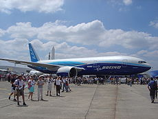 Le Wordliner au salon du Bourget en 2005