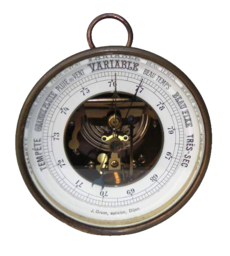 Baromètre anéroïde, début XXe s.