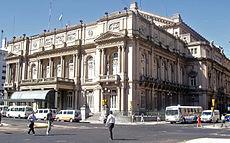 Le Teatro Colón, l'un des opéras les plus importants au monde.
