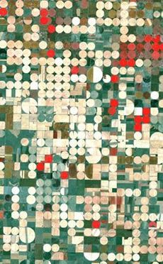 Image satellite (fausses couleurs) de champs irrigués près de Garden City, Kansas