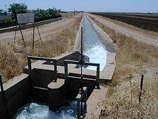 Canal d'irrigation en Anatolie