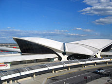 Terminal TWA créé par Eero Saarinen