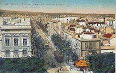 Terminus de l'avenue de Paris (1931)