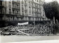 Semaine des barricades � Alger en 1960